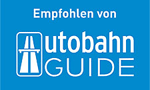 Recommended by Autobahn-Guide, a useful travel guide if you are -on the road-